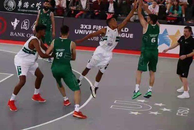 بسکتبال سه نفره ایران در جمع 8 تیم برتر دنیا
