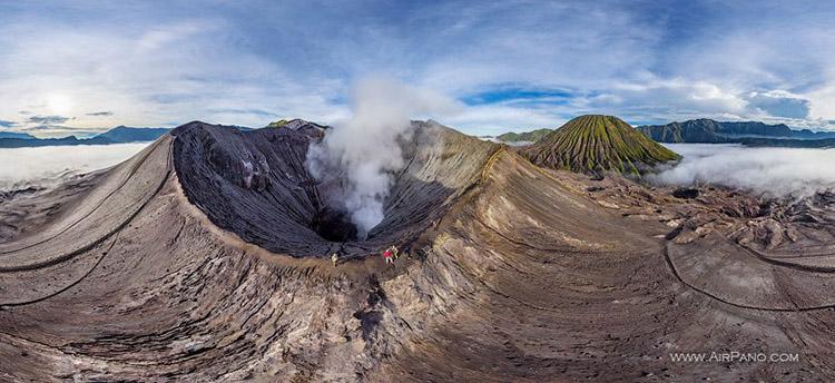 تور مجازی: آتشفشان برمو را بشناسید