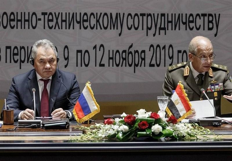 تمایل روسیه برای تقویت همکاری های نظامی با مصر