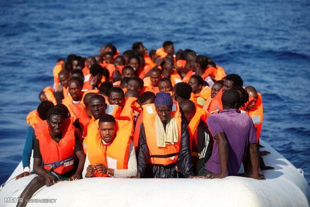 کشته شدن 239 پناهجو در سواحل لیبی