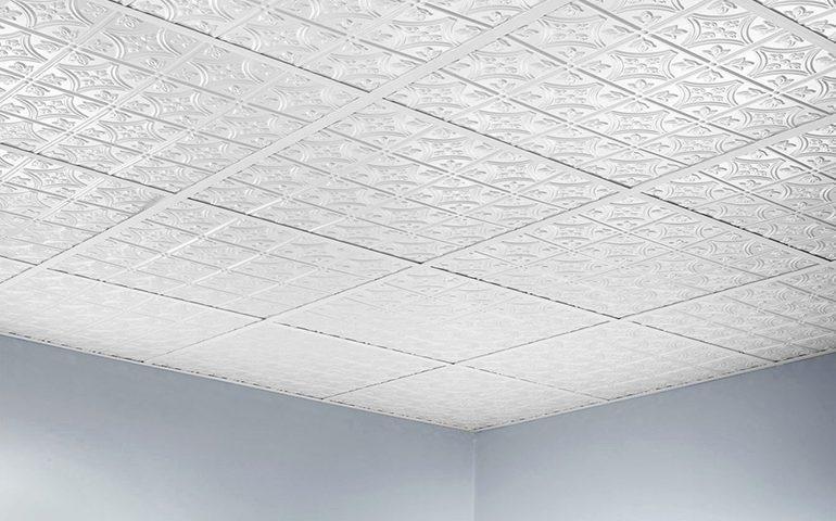 آموزش نصب کاشی بر روی سقف