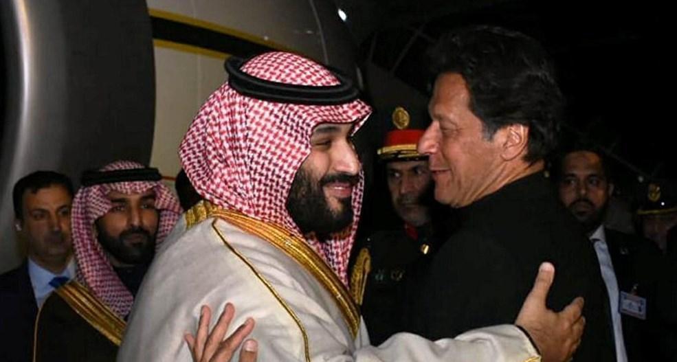 ملاقات عمران خان با بن سلمان (