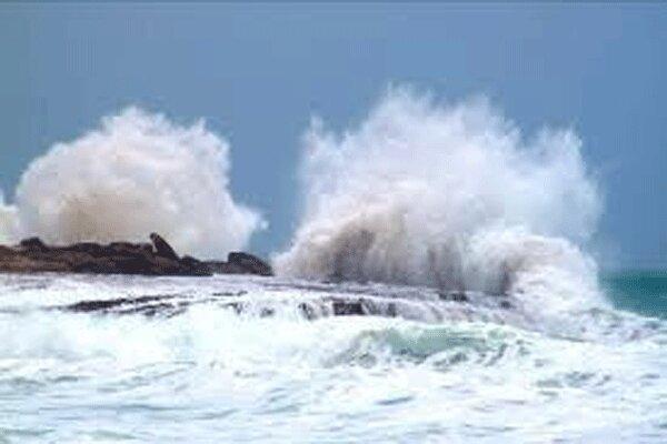 اطلاعیه هواشناسی درباره افزایش ارتفاع موج در آب های کشور