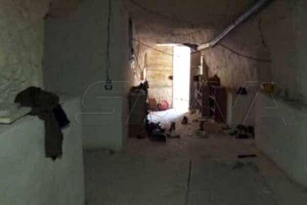 کشف یکی از مقرهای مستحکم جبهه النصره در ادلب سوریه