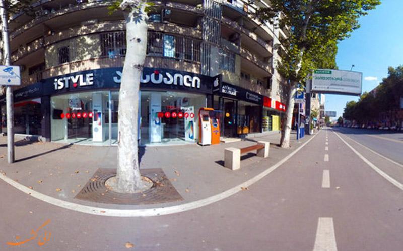 پکینی، خیابانی معروف برای خرید در تفلیس