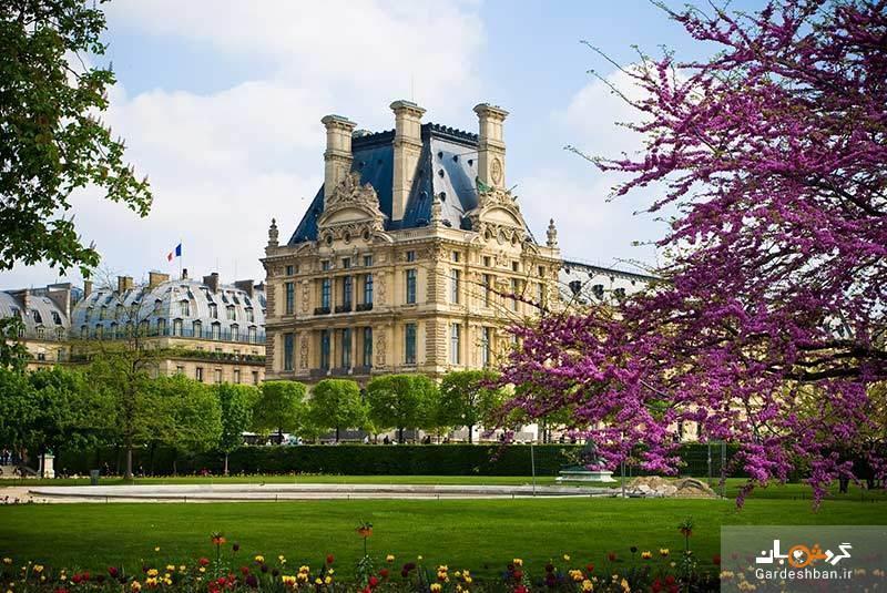 باغ تویلری، از زیباترین پارک های عمومی پاریس