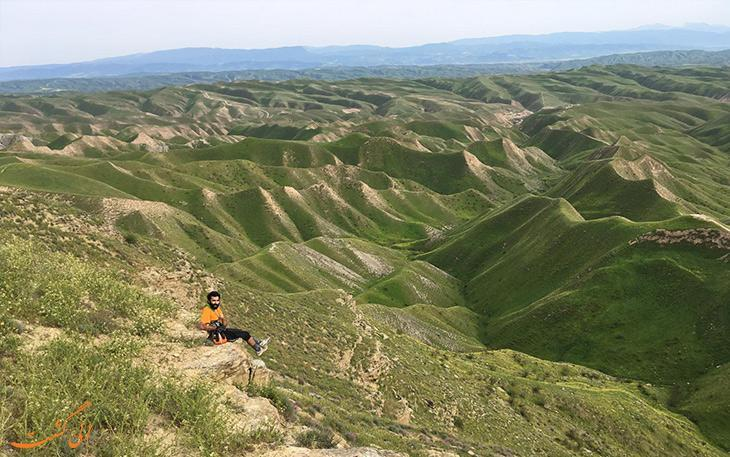 طبیعت گردی در منطقه رویایی ترکمن صحرا