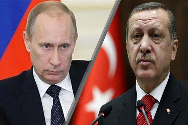 پوتین و اردوغان درباره تحولات سوریه رایزنی کردند