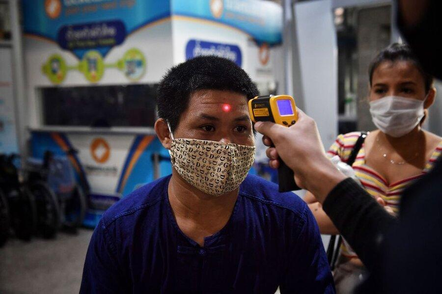 چطور تایلند شیوع کرونا را مهار کرد ، لشگر یک میلیونی داوطلبان به یاری می آیند