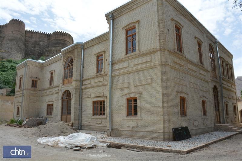 سرانجام بازسازی ساختمان باشگاه افسران خرم آباد