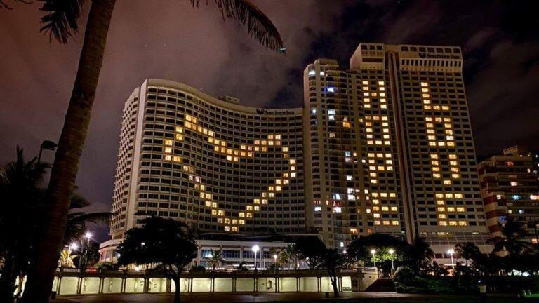 هتل های دوربان با عشق و امید روشن شدند
