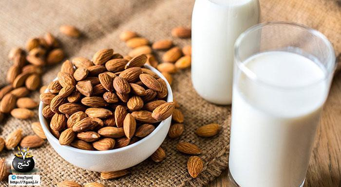 خواص شیر بادام و طرز تهیه آن در خانه