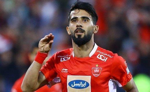 دوست دارم در پرسپولیس بمانم، در فوتبال ایران حرفه ای شدم