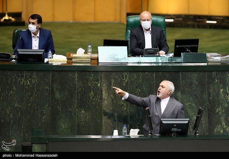 بحث داغ کاربران خبرنگاران درباره رفتار نمایندگان مجلس با ظریف