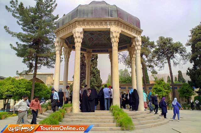 افزایش مسافران شیراز در عید غدیر خم، حافظیه در صدر بازدیدها