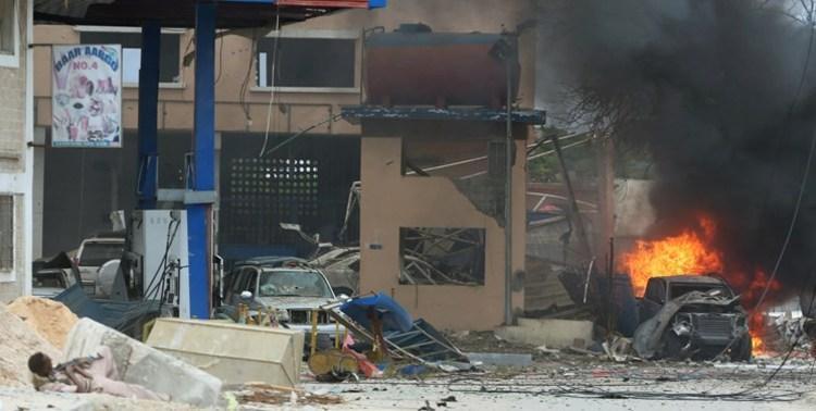 انفجار نزدیک کاخ ریاست جمهوری سومالی