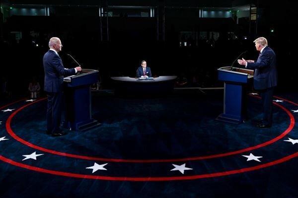 لوموند: ترامپ در حال لغو سنت انتقال مسالمت آمیز قدرت است، قطع میکروفون نامزدهای انتخاباتی آمریکا در مناظره ها