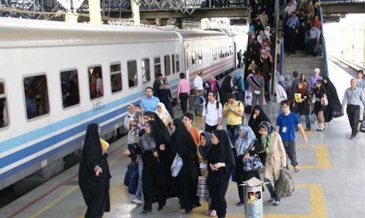 کاهش 70 درصدی مسافرت با قطار