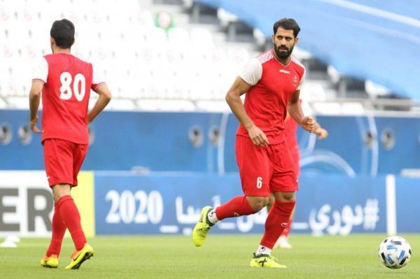 دینامو زاگرب و دو باشگاه قطری به دنبال مدافع پرسپولیس