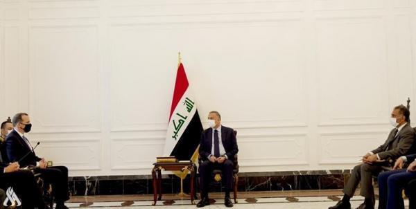 رایزنی نخست وزیر عراق با هیأتی بلندپایه آمریکایی درباره خروج نیروهای رزمی