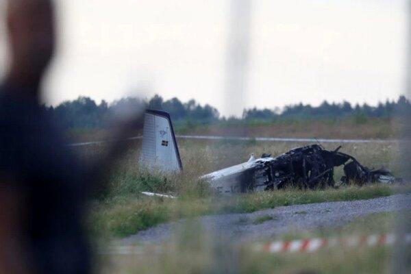 وقوع سانحه هوایی در سوئد، هواپیمایی با نُه سرنشین سقوط کرد