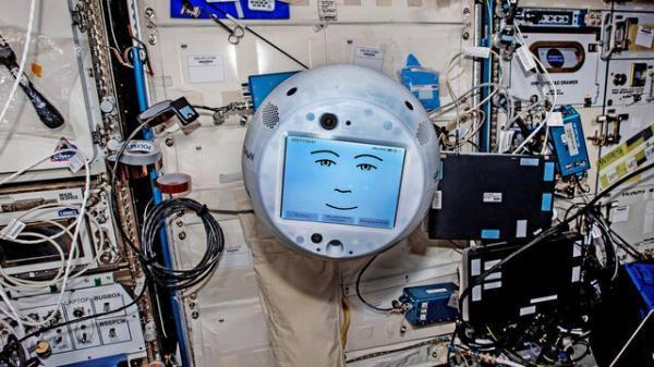 حضور مجدد روبات سایمون در ایستگاه فضایی بین المللی